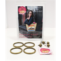 Homeward Bound Bag Hardware Kit - BRASS