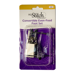 Convertible Even-Feed Feet Set for HQ Stitch 210