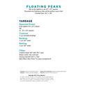Additional Images for Floating Peaks Pattern