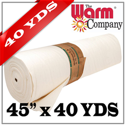 "Warm & Natural - 45"" x 36.58 M (40 YDS)"
