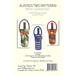 Wine Carrier Pattern & Kit
