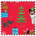 Additional Images for Dog's Christmas - Fat Quarter Pack
