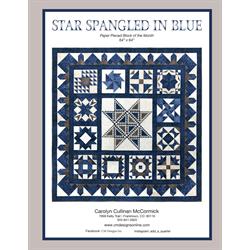 Star Spangled in Blue Book
