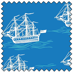 "Explore Ocean Ship - 44"" x 10 M"
