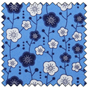 "Additional Images for Blossom - COBALT - 44"" x 10 M"