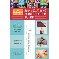 fast2cut® Bonnie K. Hunter's Bonus Buddy Ruler