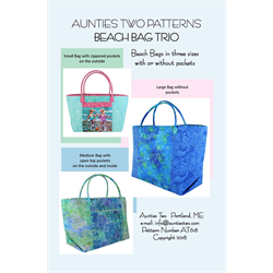 Beach Bag Trio Pattern