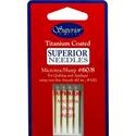 Superior Titanium Coated Microtex Needles -  SIZE 60/8