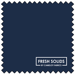 "Fresh Solids - NAVY - 44"" x 13.7 M"