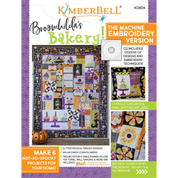 Broomhildas Bakery - Machine Embroidery CD with Book