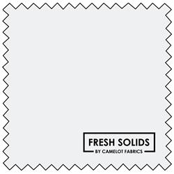"""Fresh Solids - WHITE - 44"""" x 13.7 M"""