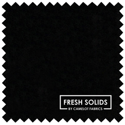 "Fresh Solids - BLACK - 44"" x 13.7 M"