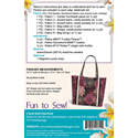 Additional Images for Fiji Tote Bag Pattern