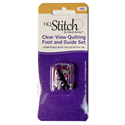 "Additional Images for 1/4"" Clear View Quilting Foot and Guide Set for HQ Stitch 710"