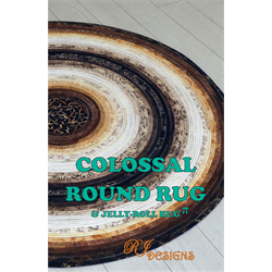 Colossal Round Rug Pattern - NOVEMBER 2018