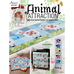 Animal Attraction Quilt Pattern Book - JULY 2018