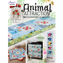 Additional Images for Animal Attraction Quilt Pattern Book - JULY 2018