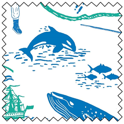 """Explore Ocean Map - 44"""" x 10 M"""