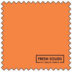 "Fresh Solids - ORANGE SODA - 44"" x 13.7 M"