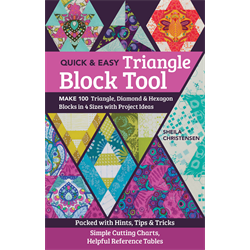 Quick & Easy Triangle Block Tool - JANUARY 2020