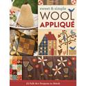 Sweet & Simple Wool Applique - SEPTEMBER 2017