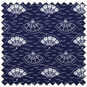 "Additional Images for Fans - NAVY - 44"" x 10 M"