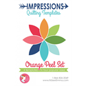 Additional Images for Impressions Quilting Templates - Orange Peel Set