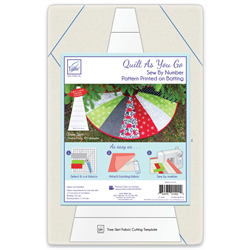 Quilt As You Go - Tree Skirt
