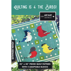 Quilting is 4 the Birds! Pattern