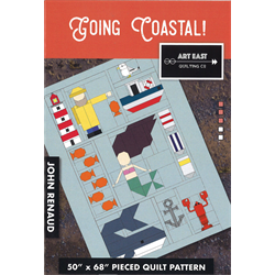Going Coastal! Modern Quilt  Pattern