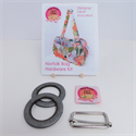 The Norfolk Bag Hardware Kit - NICKEL