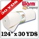 """Warm & White - 124"""" x 27.43 M (30 YDS)"""