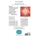 Additional Images for Posh Snowball Pattern - NOVEMBER 2019