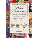Hand Embroidery Stitches at-a-glance Reference Guide