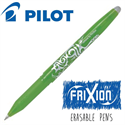 Additional Images for Frixion Pen Fine Point (.7 mm) Heat Erase - LIGHT GREEN