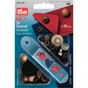 Anorak Snap Fasteners - 15mm - ANTIQUE BRASS