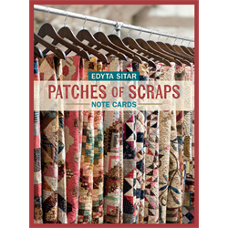 Patches of Scraps Note Cards