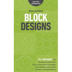 Free Motion Block Designs - NOVEMBER 2017